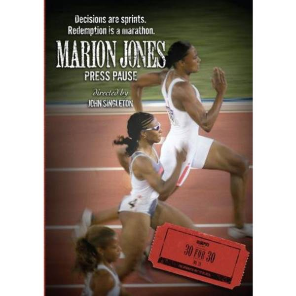 ESPN Films 30 for 30: Marion Jones: Press Pause DVD product image