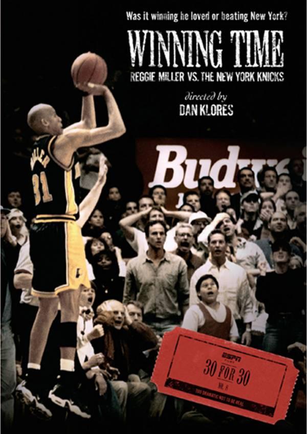 ESPN Films 30 for 30: Winning Time: Reggie Miller vs. The New York Knicks DVD product image