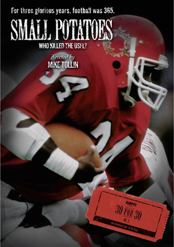 ESPN Films 30 for 30: Small Potatoes: Who Killed the USFL DVD product image