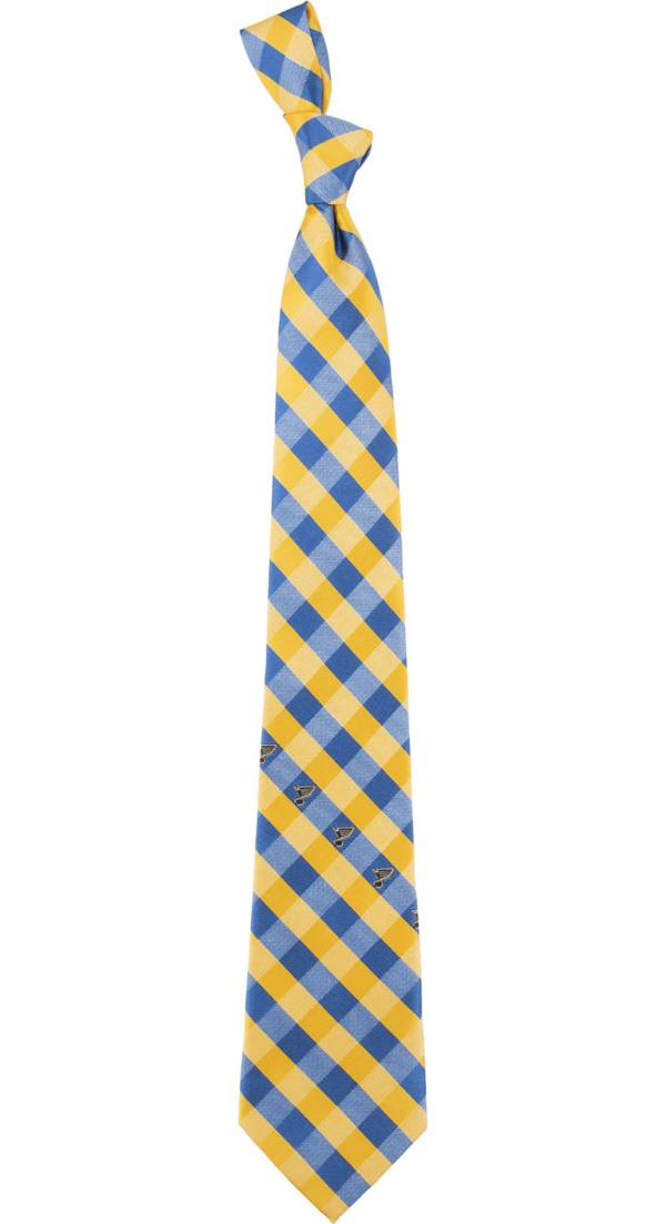 Eagles Wings St. Louis Blues Check Necktie product image