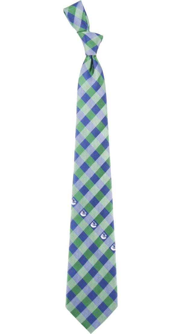 Eagles Wings Vancouver Canucks Check Necktie product image