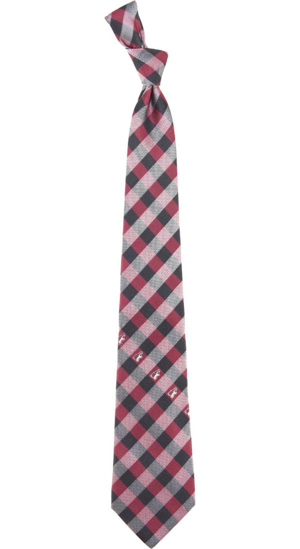 Eagles Wings Arizona Coyotes Check Necktie product image