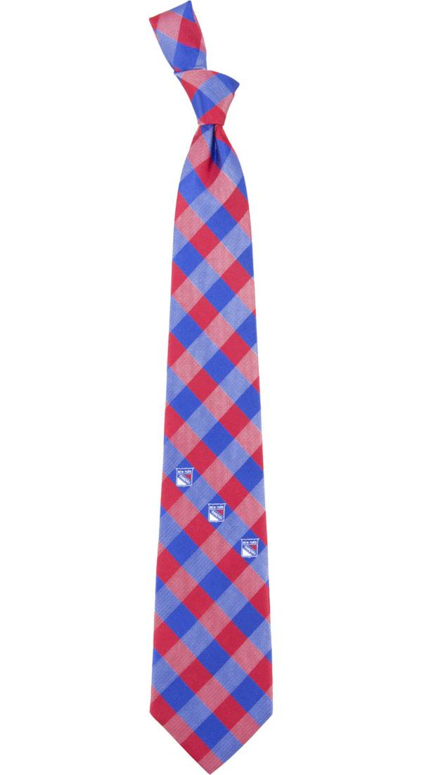 Eagles Wings New York Rangers Check Necktie product image