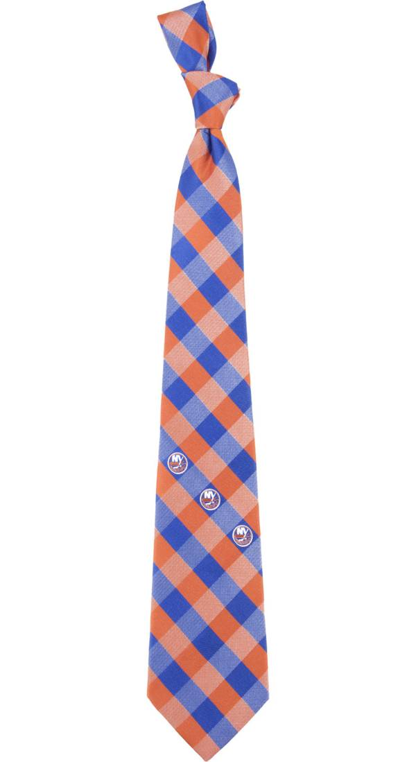 Eagles Wings New York Islanders Check Necktie product image