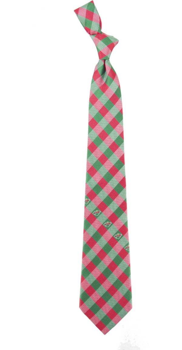 Eagles Wings Minnesota Wild Check Necktie product image