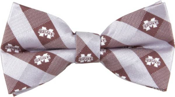 Eagles Wings Mississippi State Bulldogs Checkered Bow Tie product image