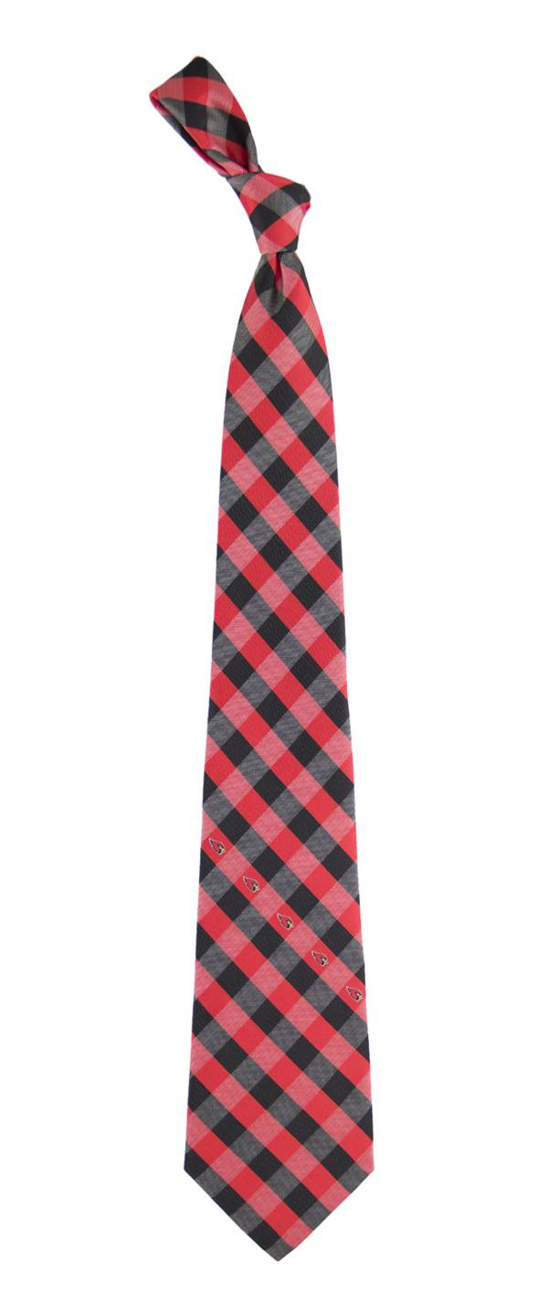 Eagles Wings Arizona Cardinals Checkered Necktie product image