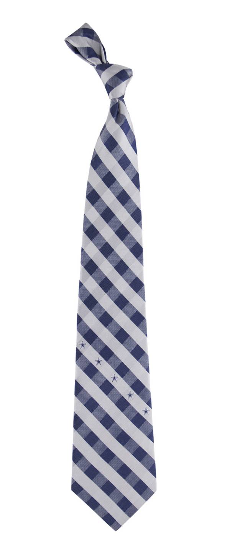 Eagles Wings Dallas Cowboys Checkered Necktie product image