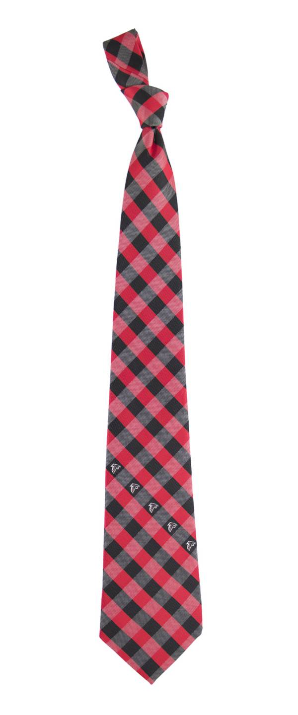 Eagles Wings Atlanta Falcons Checkered Necktie product image