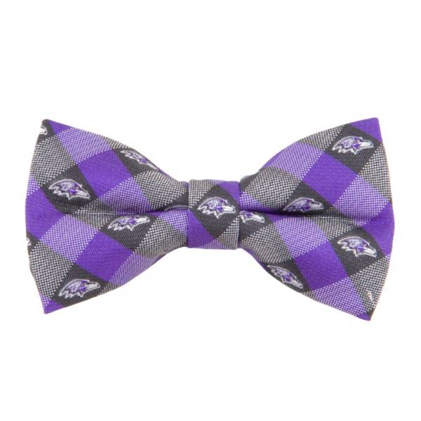 Eagles Wings Baltimore Ravens Checkered Bow Tie product image