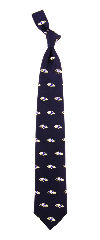Eagles Wings Baltimore Ravens Print Silk Necktie product image