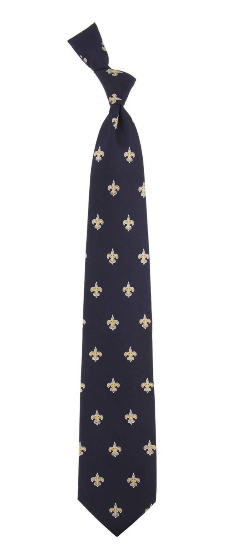 Eagles Wings New Orleans Saints Print Silk Necktie product image
