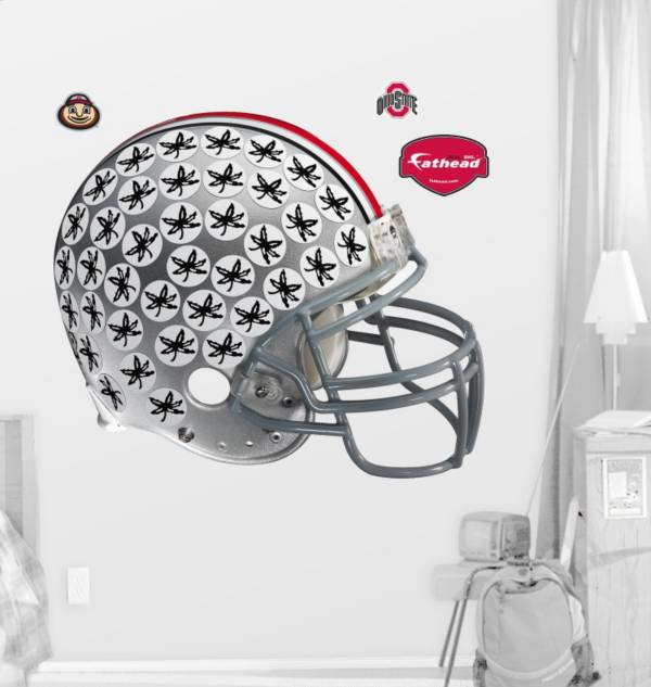 Fathead Ohio State Buckeyes Helmet Wall Graphic product image
