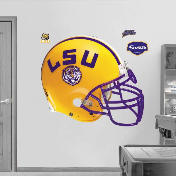 Fathead LSU Tigers Football Helmet Wall Graphic product image