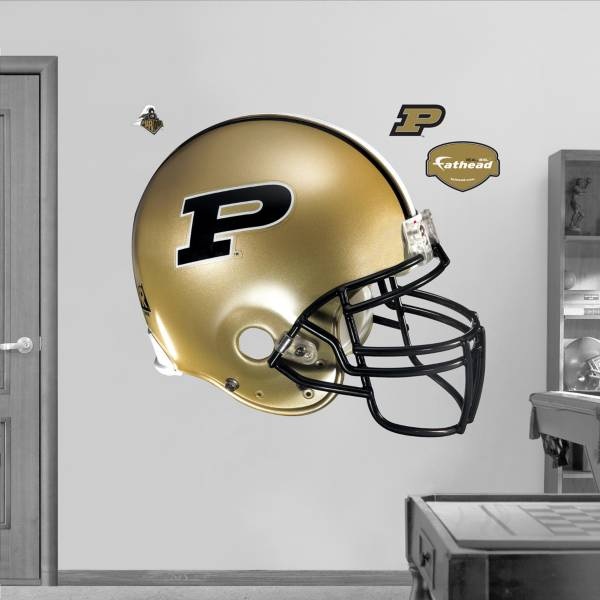 Fathead Purdue Boilermakers Football Helmet Wall Graphic product image