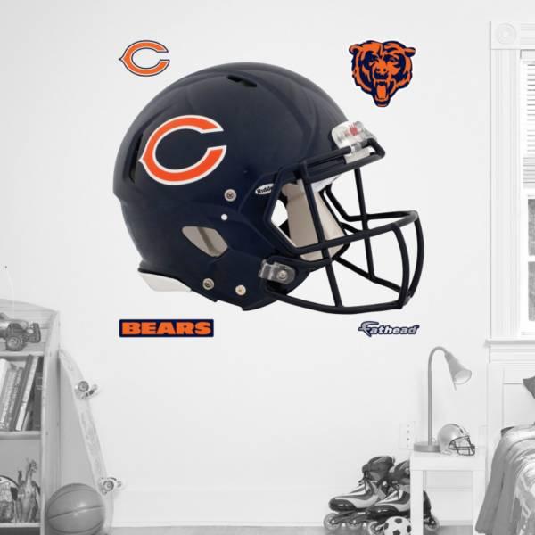 Fathead Chicago Bears Helmet Logo Wall Graphic product image