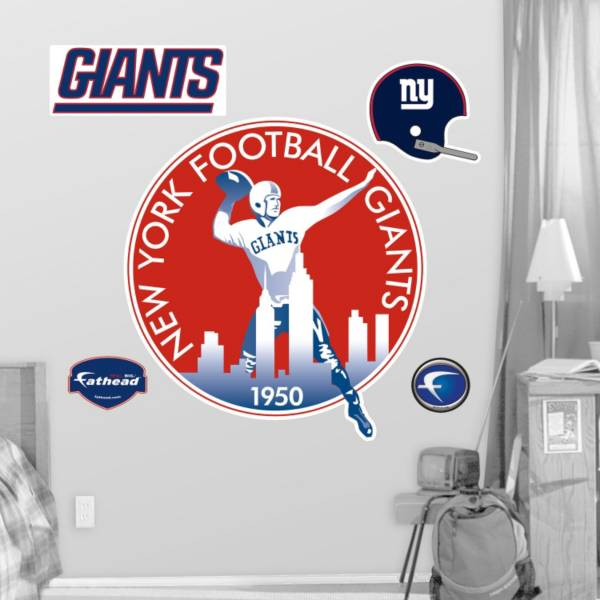 Fathead New York Giants Classic Logo Wall Graphic product image