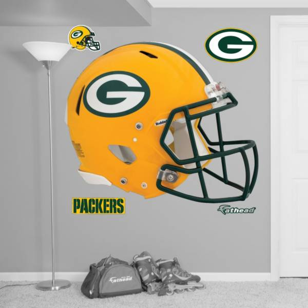 Fathead Green Bay Packers Helmet Logo Wall Graphic product image