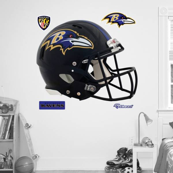 Fathead Baltimore Ravens Helmet Logo Wall Graphic product image