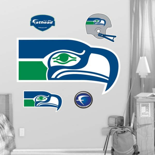 Fathead Seattle Seahawks Classic Logo Wall Graphic product image