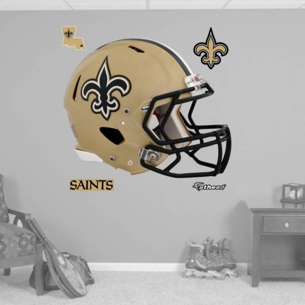 Fathead New Orleans Saints Helmet Logo Wall Graphic product image