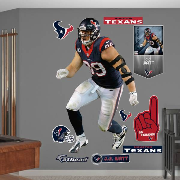 Fathead J.J. Watt #99 Houston Texans Real Big Wall Graphic product image