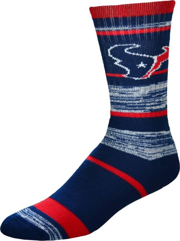 For Bare Feet Houston Texans Stripe Deuce Socks product image