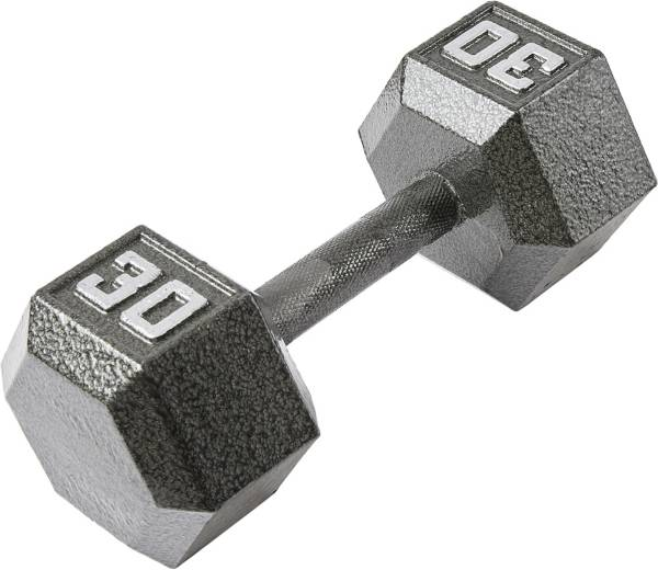 Fitness Gear 30 lb Cast Hex Dumbbell product image