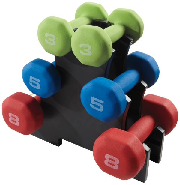 Fitness Gear 32 lb. Neoprene Dumbbell Kit product image