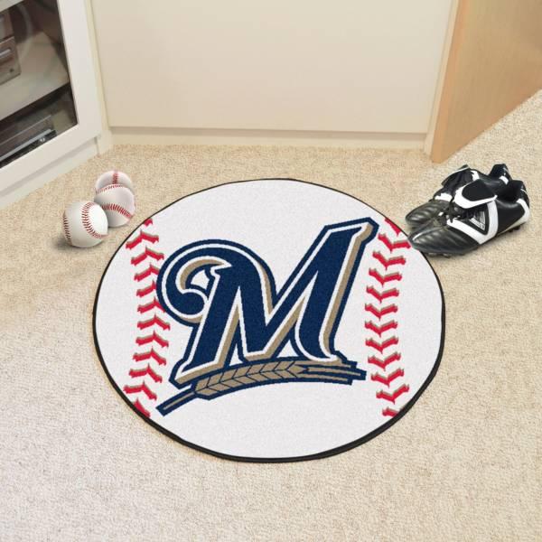 FANMATS Milwaukee Brewers Baseball Mat product image