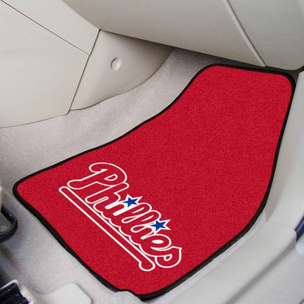 Philadelphia Phillies Printed Car Mats 2-Pack product image