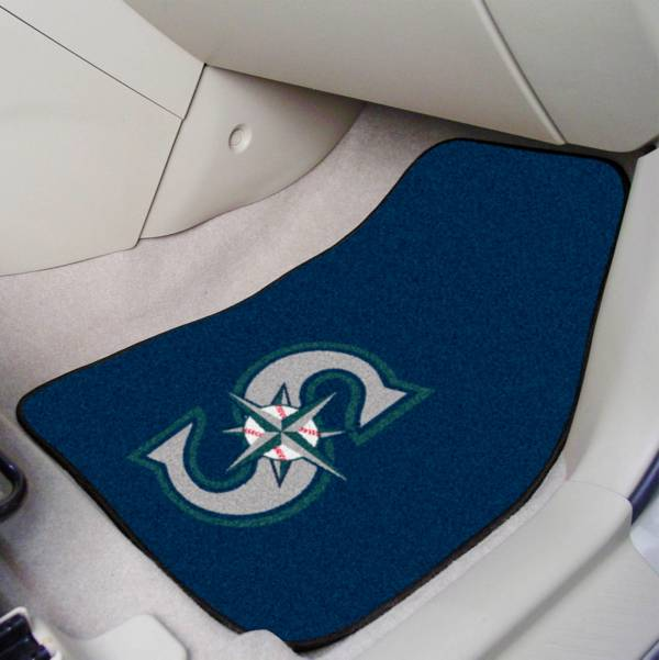 FANMATS Seattle Mariners Printed Car Mats 2-Pack product image