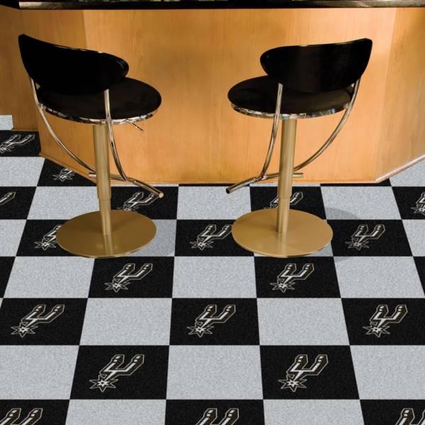 FANMATS San Antonio Spurs Carpet Tiles product image