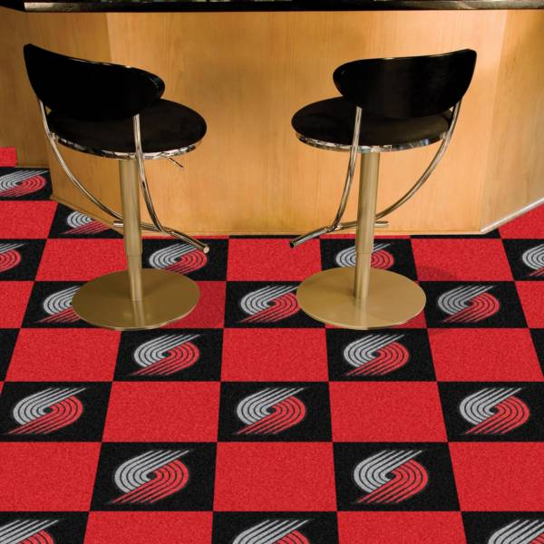 FANMATS Portland Trail Blazers Carpet Tiles product image