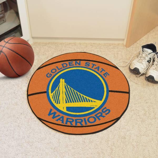 Golden State Warriors Basketball Mat product image