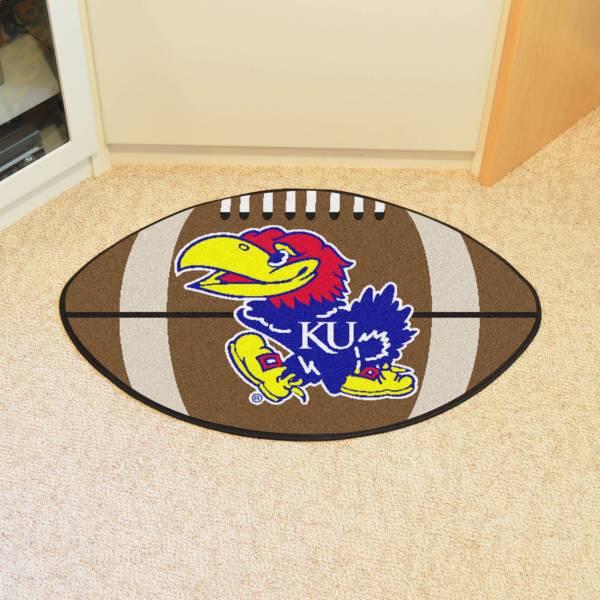 FANMATS Kansas Jayhawks Football Mat product image