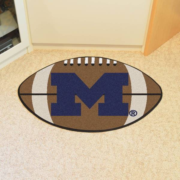 Michigan Wolverines Football Mat product image