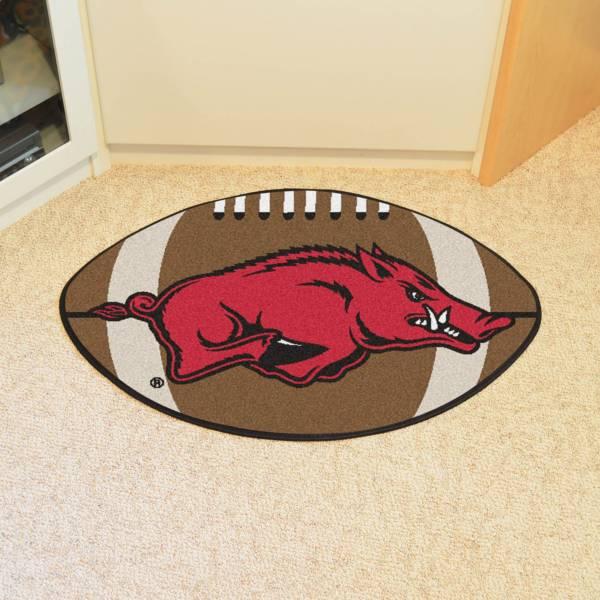 FANMATS Arkansas Razorbacks Football Mat product image