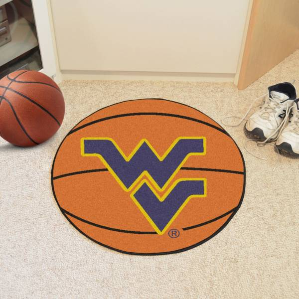 FANMATS West Virginia Mountaineers Basketball Mat product image