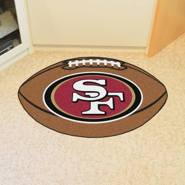 FANMATS San Francisco 49ers Football Mat product image