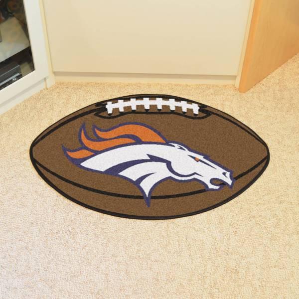 FANMATS Denver Broncos Football Mat product image