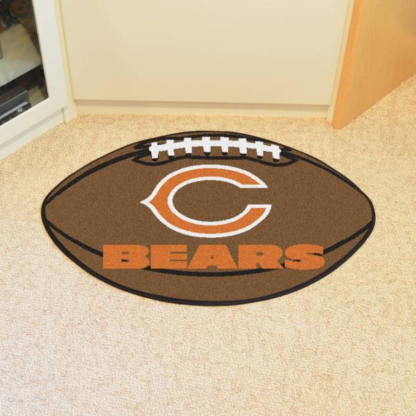 Chicago Bears Football Mat product image