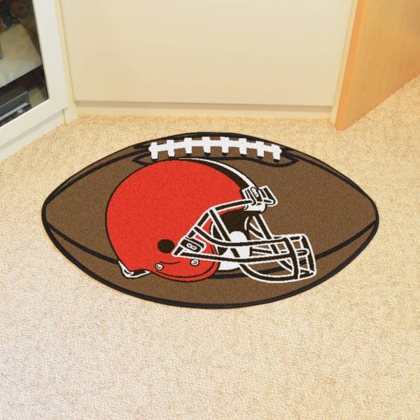 Cleveland Browns Football Mat product image