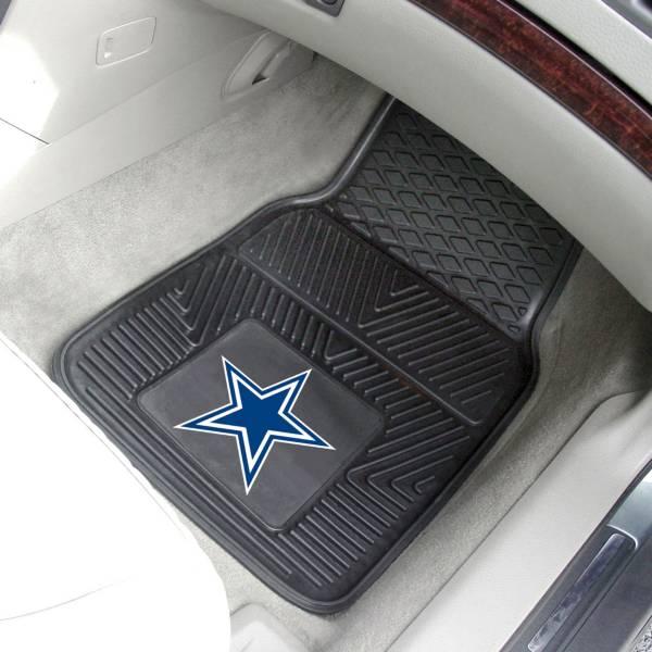 FANMATS Dallas Cowboys 2-Piece Heavy Duty Vinyl Car Mat Set product image