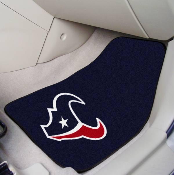 Houston Texans 2-Piece Printed Carpet Car Mat Set product image