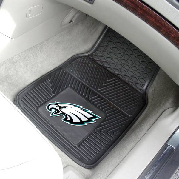 FANMATS Philadelphia Eagles 2-Piece Heavy Duty Vinyl Car Mat Set product image