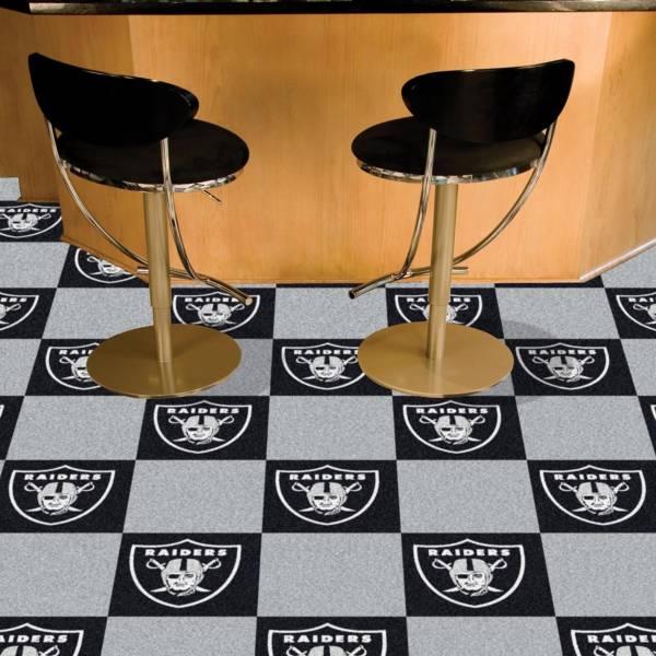 FANMATS Las Vegas Raiders Team Carpet Tiles product image