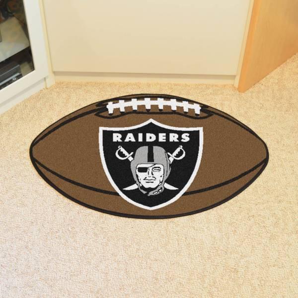 FANMATS Las Vegas Raiders Football Mat product image