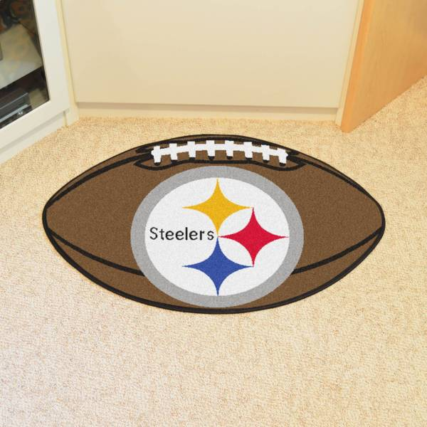 FANMATS Pittsburgh Steelers Football Mat product image