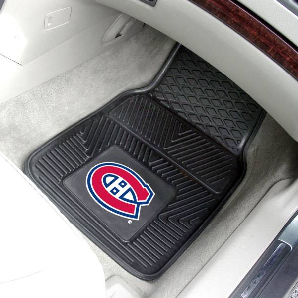 FANMATS Montreal Canadiens Two Piece Heavy Duty Vinyl Car Mat Set product image